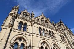 Bradford UK. Bradford, city in West Yorkshire, England. City Hall at Centenary Square Stock Photography