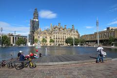 Bradford UK Royalty Free Stock Photography
