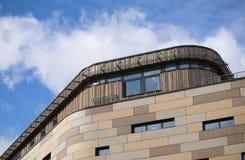 Bradford, West Yorkshire, Reino Unido - 9 de octubre de 2013, universidad de Bradford Building en Bradford City Centre Campus imagen de archivo libre de regalías