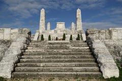 Bradla, monumento de Stefanik, establisher de Checo foto de archivo