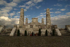 bradlaEuropa monument Arkivbilder