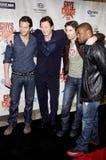 Bradley bednarz, Sharlto Copley, Liam Neeson Jackson i Quinton, Zdjęcia Stock