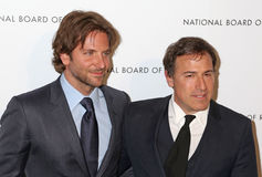 Bradley Cooper και Δαβίδ O. Russell Στοκ Φωτογραφία