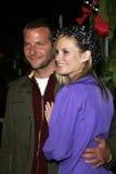 Bradley Cooper και Bonnie Somerville Στοκ Φωτογραφίες