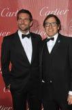 Bradley Cooper & David O russell fotografia stock libera da diritti