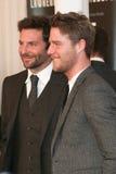 Bradley Cooper, Jake McDorman fotografia stock libera da diritti