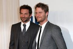 Bradley Cooper, Jake McDorman fotografia stock