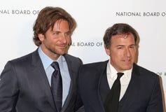 Bradley Cooper och David O. Russell Arkivbild