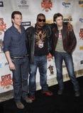 Bradley Cooper, Sharlto Copley y Quinton Jackson Imagenes de archivo