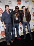 Bradley Cooper, Sharlto Copley y Quinton Jackson fotografía de archivo libre de regalías