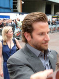 Bradley Cooper at A Team Premiere. LONDON - July 27: Bradley Cooper at A Team Premiere July 27th, 2010 in Leicester Square London, England Stock Photography