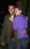 Bradley Cooper y Bonnie Somerville fotos de archivo libres de regalías