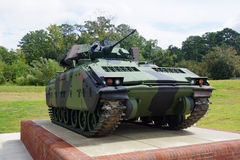 The Bradley Fighting Vehicle. Digital image of the United States Infantry's primary armored combat vehicle - The M2 Bradley. Image is from the US Infantry Museum Royalty Free Stock Photos
