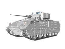 Bradley Type Vehicle Stock Image