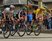 Bradley Wiggins - reis DE Frankrijk 2012 Stock Fotografie