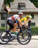 Bradley Wiggins - reis DE Frankrijk 2012 Stock Afbeeldingen
