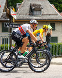 Bradley Wiggins - Tour de France 2012 Stock Images