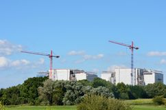 Bradwell power station. Being decommissioned Stock Image