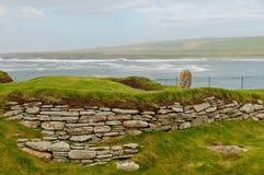 Brae de Skara, consoles de Orkney Fotografia de Stock