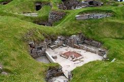 Brae di Skara - villaggio della Scozia Neoliphic immagini stock libere da diritti