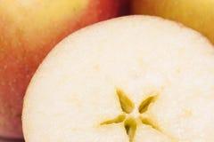 Braeburn apple slice Royalty Free Stock Images