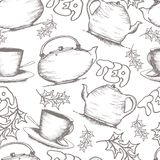 Braekfast pattern Royalty Free Stock Images