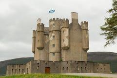 Braemar城堡在苏格兰 免版税库存图片