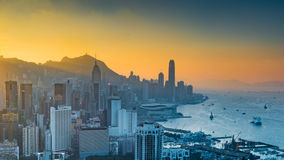 Braemar Hill, Hong Kongl Royalty Free Stock Images