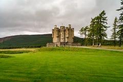 Braemar slott, Aberdeenshire, Skottland Arkivbild