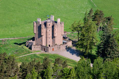Braemar slott, Aberdeenshire, Skottland Royaltyfria Foton