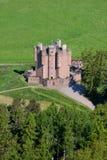Braemar slott, Aberdeenshire, Skottland Royaltyfri Foto