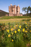 Braemar slott, Aberdeenshire, Skottland Royaltyfri Fotografi