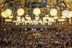 Braeurosl em Oktoberfest em Munich, Alemanha, 2015 Imagens de Stock