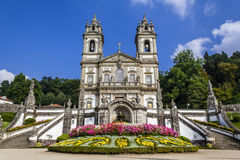 Braga, Πορτογαλία bom do Ιησούς monte άδυτο Στοκ Εικόνες