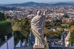 Braga au Portugal photos stock