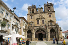 Braga Cathedral Royalty Free Stock Images