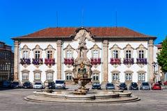 Braga City Hall Royalty Free Stock Images