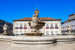 Braga City Hall Royalty Free Stock Image