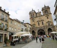 Braga domkyrka Royaltyfria Bilder