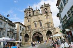 Braga domkyrka Fotografering för Bildbyråer