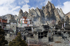 Braga Gompa in Nepal Stock Photography