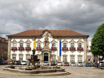 Braga -Portugal. Municipal building in Braga,Portugal Royalty Free Stock Image