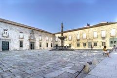 Braga, Portugal 14 augustus, 2017: Mening van rtectorty van U stock foto's