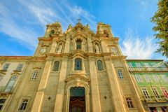 Convento dos Congregados facade Royalty Free Stock Photos