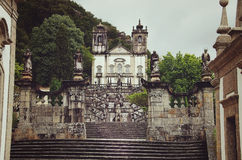 Braga Portugal: Bom Jesus gör Monte Royaltyfri Foto