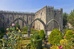 Braga, Portugal. Santa Barbara garden Royalty Free Stock Images