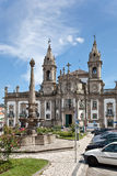 Braga, Portugal Sao Marcos Hospital Church Royalty-vrije Stock Afbeelding