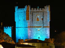 Bragança城堡 免版税库存照片