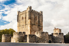 Bragança, Tras os Montes, Portugal. Bragança,  English: Braganza, is a city and municipality in north-eastern Portugal, capital of district of Bragança Royalty Free Stock Images