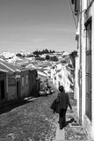 Braganca turist- promenad Fotografering för Bildbyråer